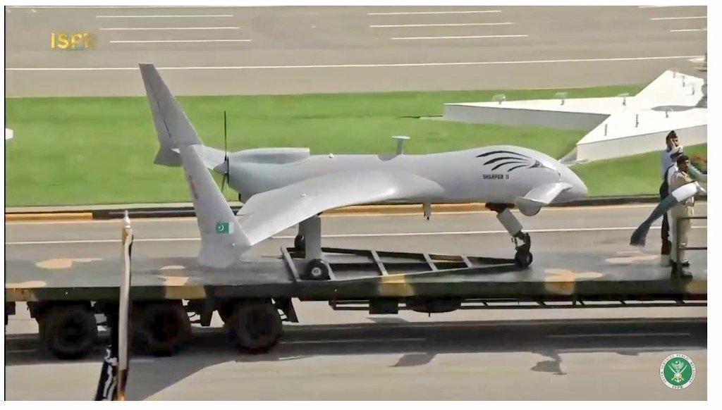Shahpar-II UCAV pakistan